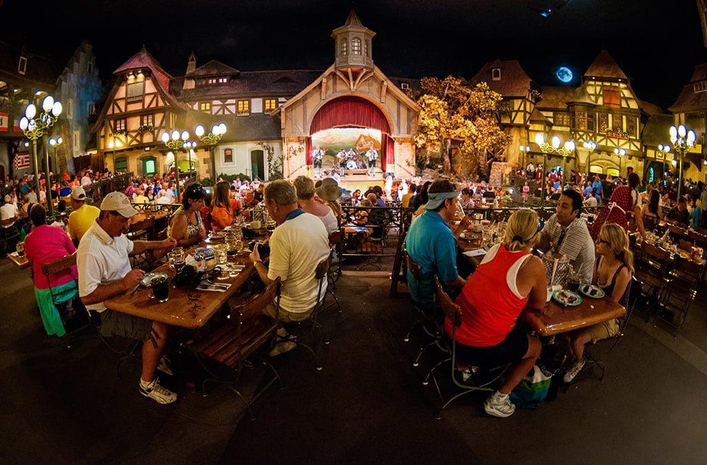 Biergarten Review Disney Tourist Blog