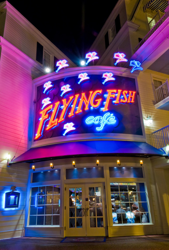 flying fish cafe review disney tourist blog