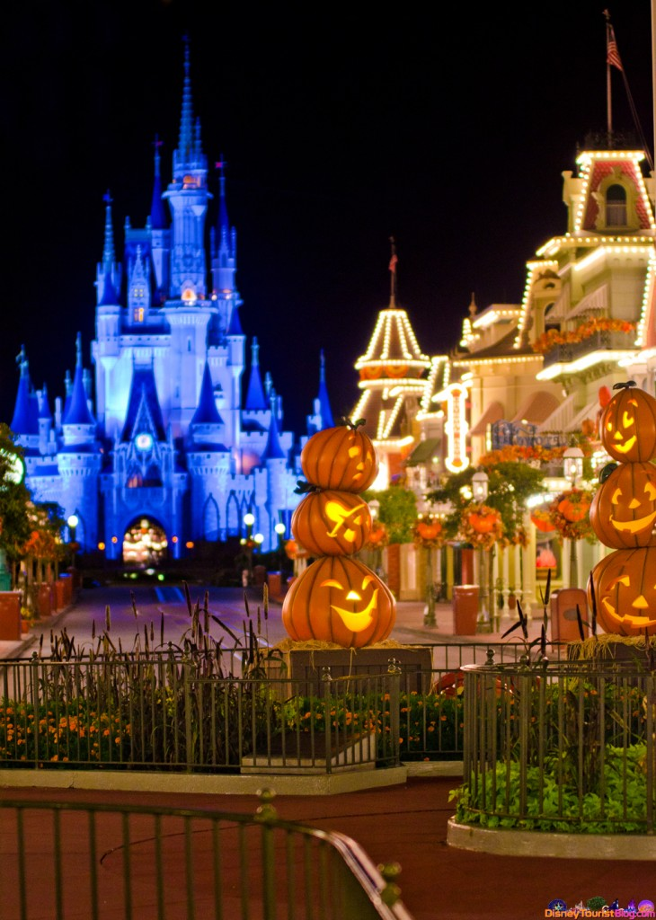 The Pumpkins Are Due On Main Street - Disney Photo of the