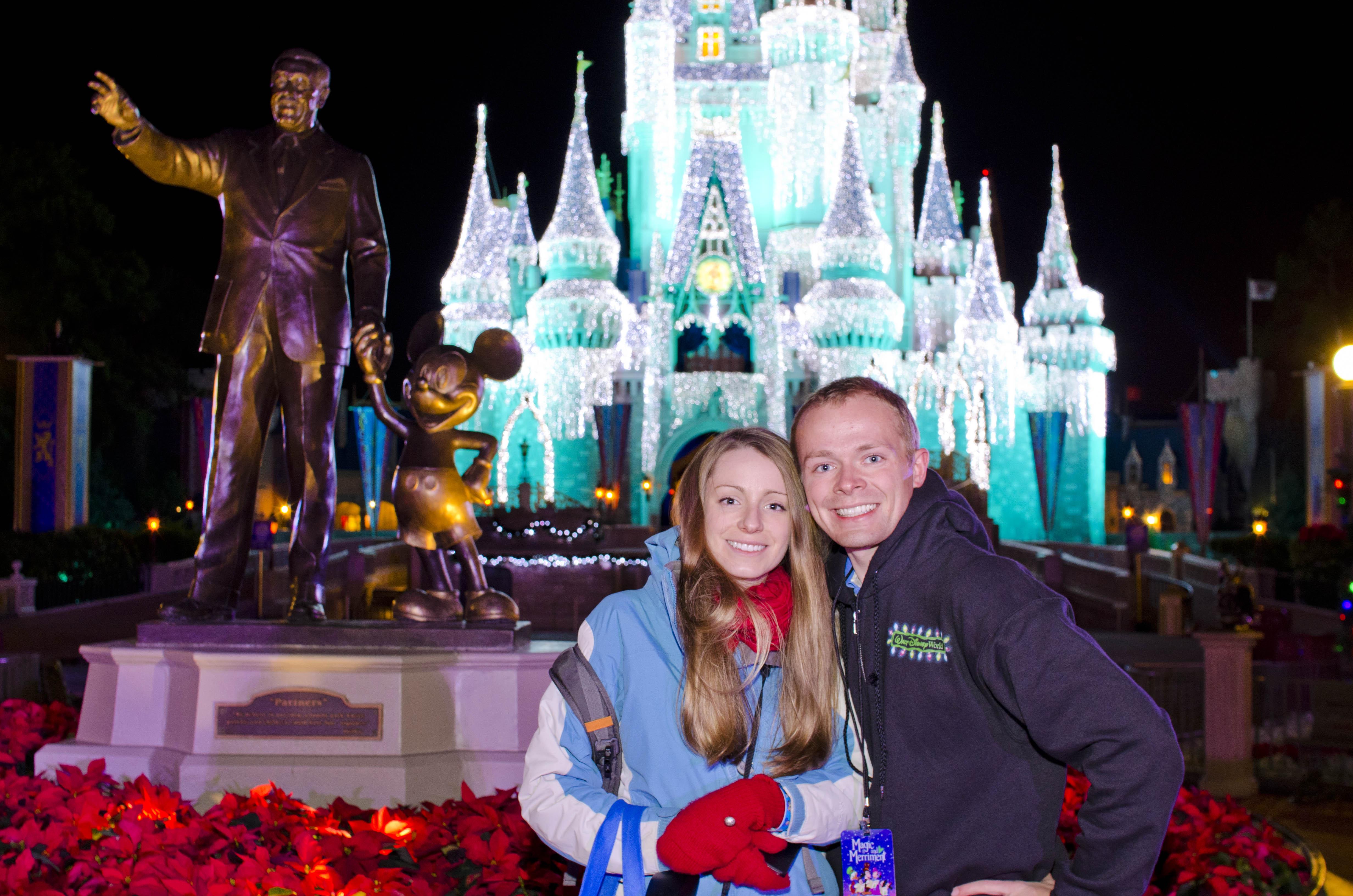 Disney World Christmas Card Photo Locations - Disney Tourist Blog