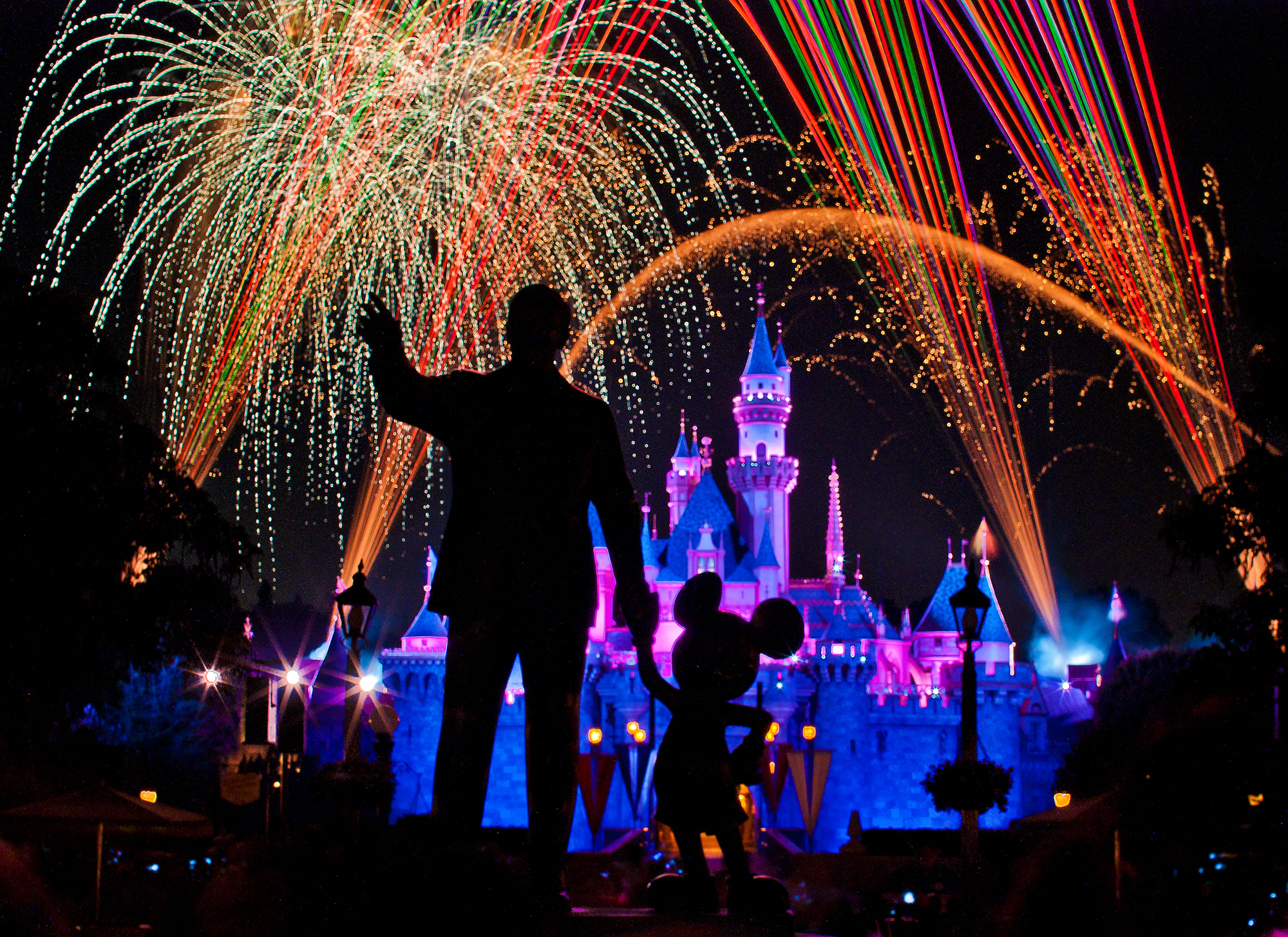 "Disney Fireworks Drawing Disneyland ""magical"" Fireworks"