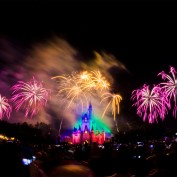 Wishes 40th Anniversary Fireworks