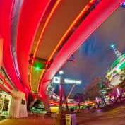 Tomorrowland Night Photo - Walt Disney World