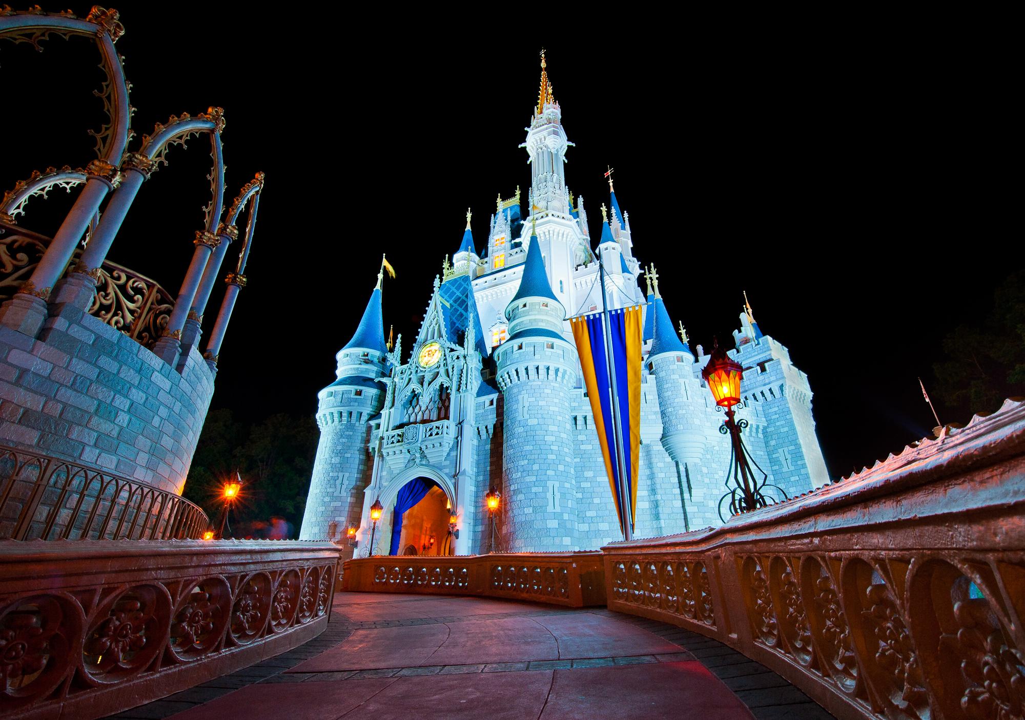 Cinderella Castle Photography Cinderella Castle Ultra Wide