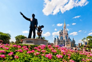 Partners and Cinderella Castle
