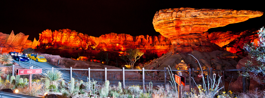 Radiator Springs Racers Race Night