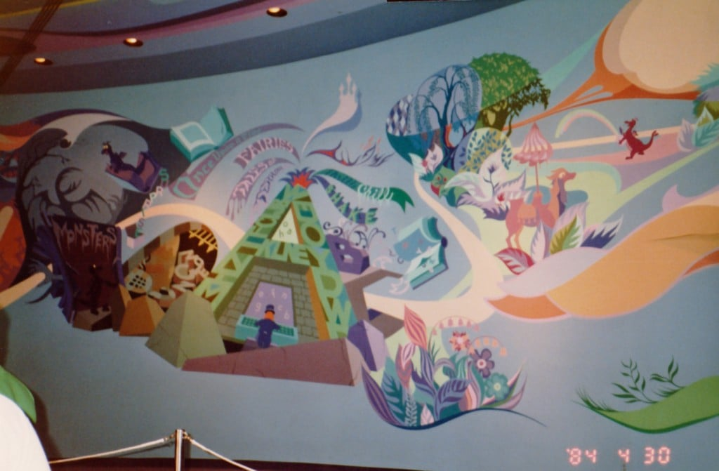 Maelstrom mural page 3 wdwmagic unofficial walt for Disney world mural