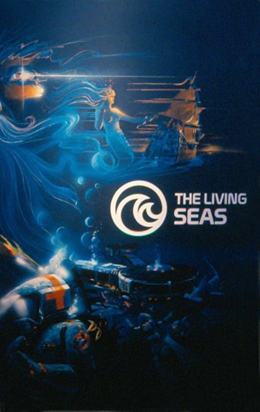 Mural Entrance Living Seas 11-84 - Patricia Brown
