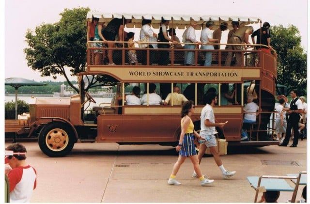88 - World Showcase bus - Ben West