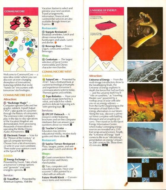 epcot_parkmap_1991_pg9-10 - Ron Duphily