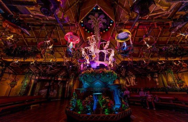 Tiki Room Disneyland Menu