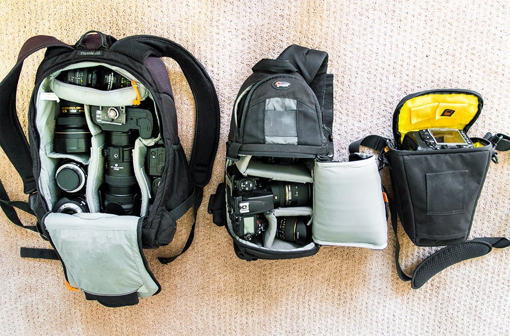 Choosing the Best Camera Bag for Travel - Disney Tourist Blog