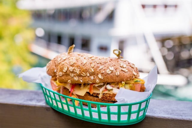 Hungry Bear Restaurant - Fried Green Tomato Sandwich