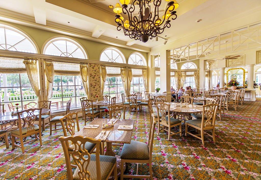 Grand Floridian Cafe Thanksgiving Menu