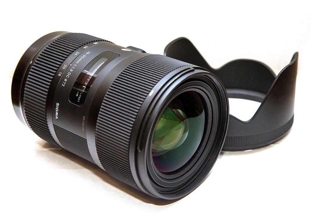 Kết quả hình ảnh cho Sigma 18-35mm f/1.8 DC :