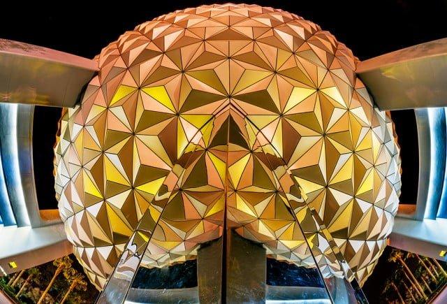 spaceship-earth-underside-fisheye