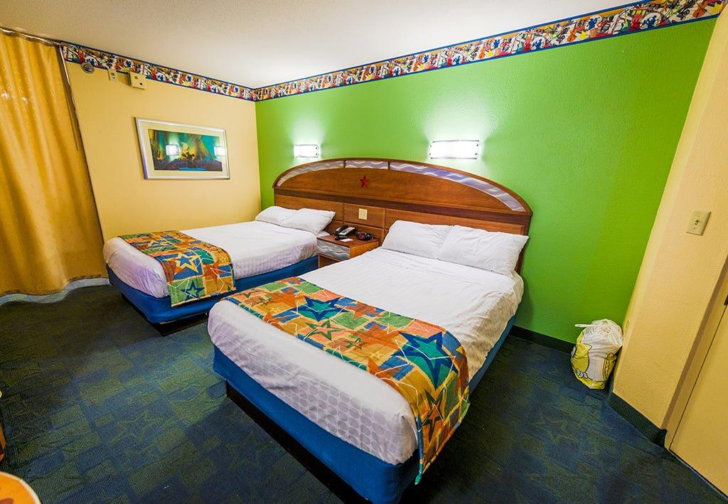 Hotel Room Sizes At Disney World Disney Tourist Blog