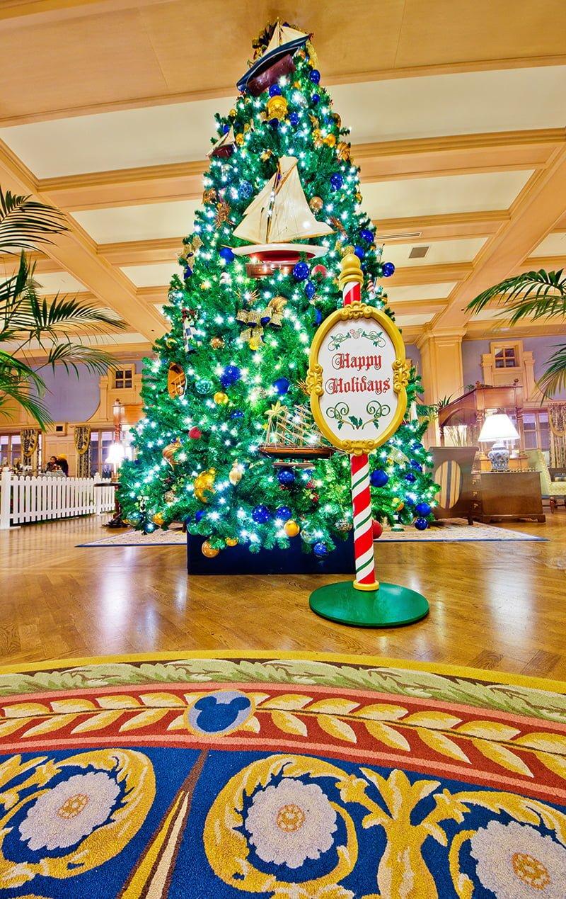 Disney World Resort Christmas Decorations Tour - Disney