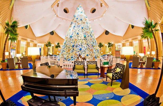 Christmas Decorations At Disney World Hotels : Disney world resort christmas decorations tour