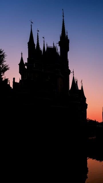castle-silhouette-iphone