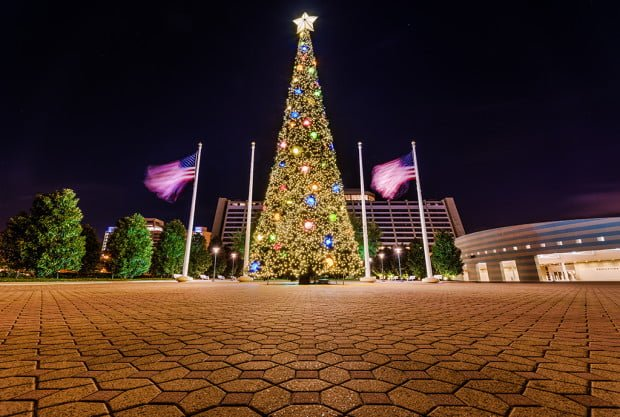 contemporary-christmas-tree-walt-disney-world-pavement copy