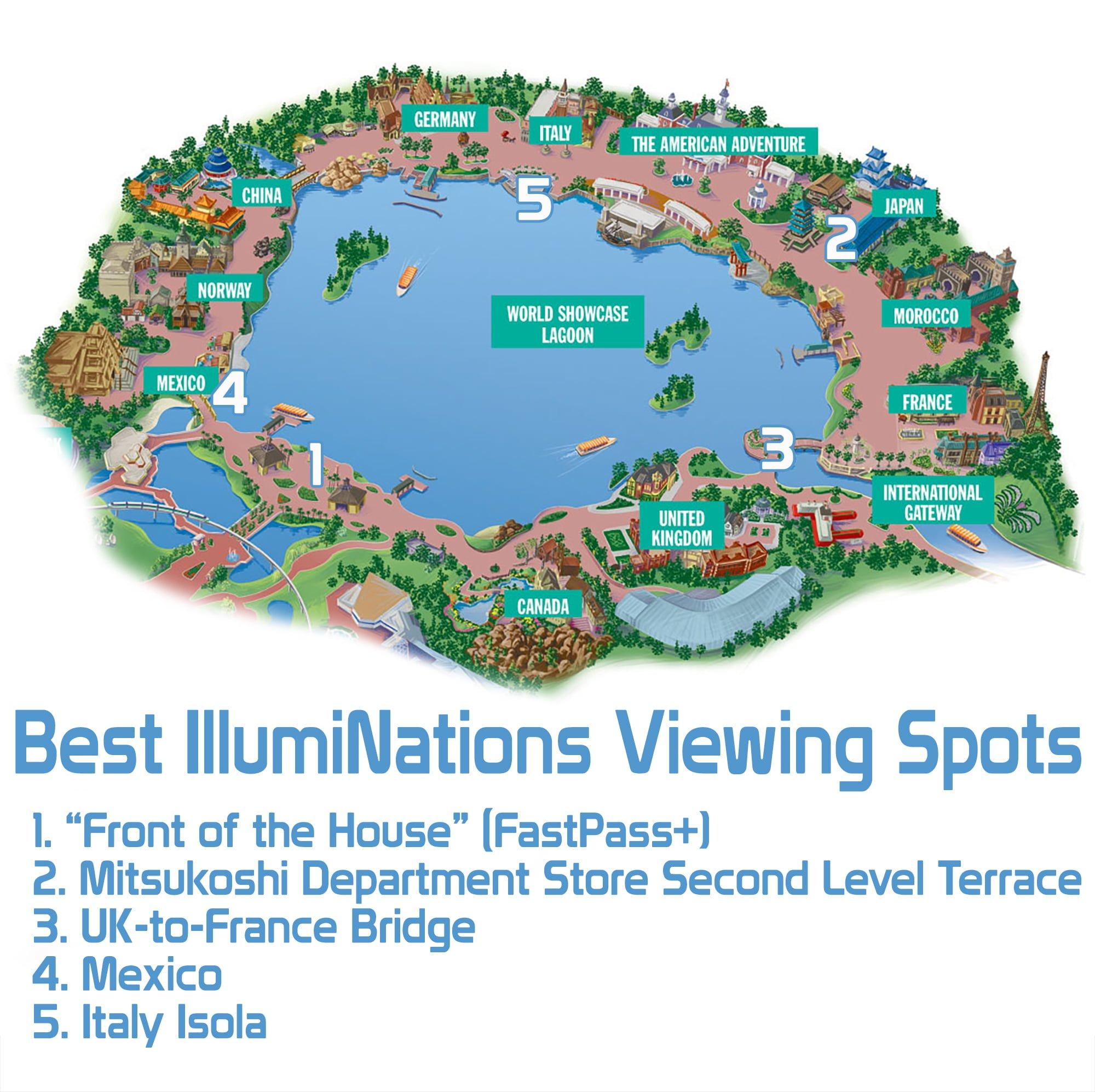 best illuminations viewing spots disney tourist blog