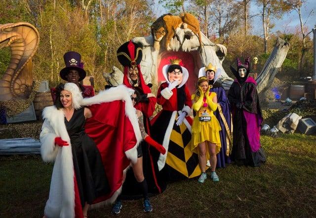 Disneys Atlantis The Villains: Walt Disney World Marathon Report