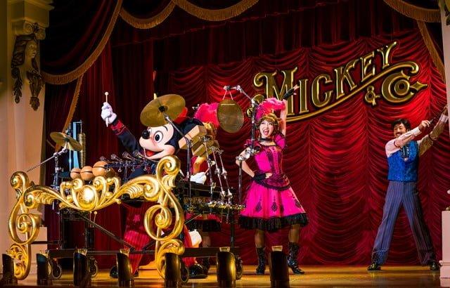 Mickey Amp Company Diamond Horseshoe Dinner Show Review