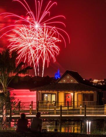 polynesian-bora-bora-bungalow-red-fireworks