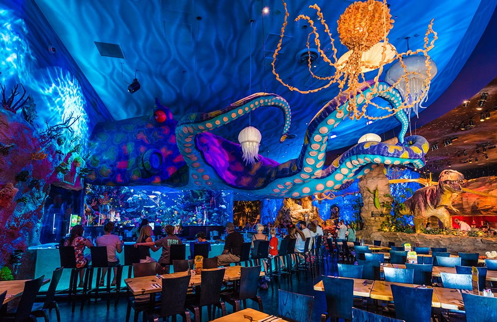 T rex cafe review disney tourist blog for Disney dining reservations t rex