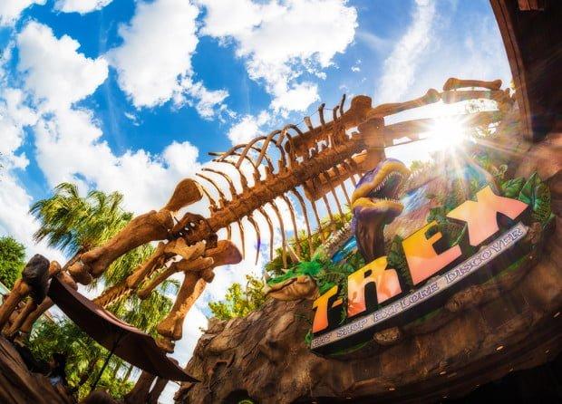 T Rex Cafe Review Disney Tourist Blog