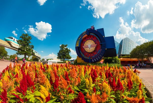 imagination-flowers-epcot-monorail
