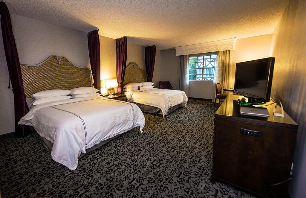 Anaheim Majestic Garden Hotel Review Disney Tourist Blog