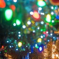 christmas-tree-lights-bokeh-castle