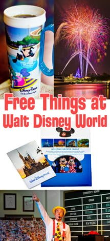 free-things-disney-world