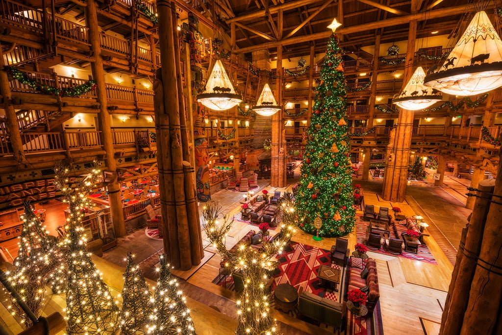 Disney Wilderness Lodge Christmas Decorations