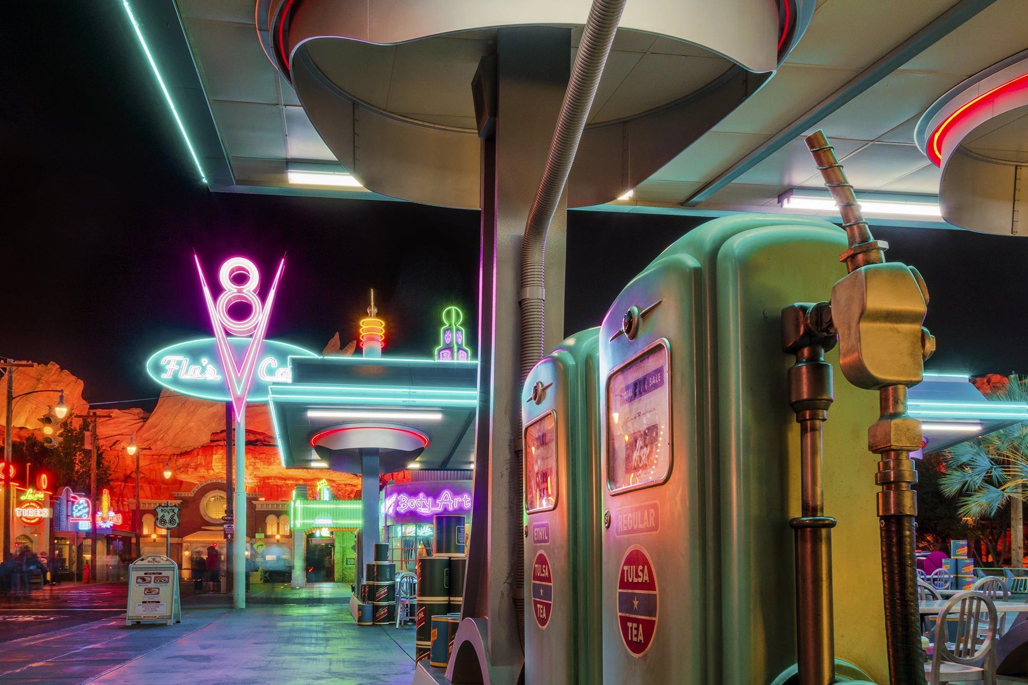 California Adventure Flo S V Cafe