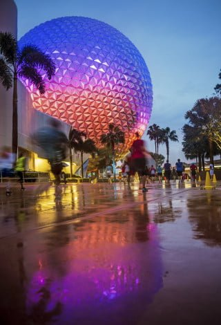 spaceship-earth-reflection-10k-rundisney copy