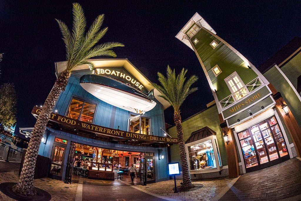 is a table service restaurant at disney springs in walt disney ...