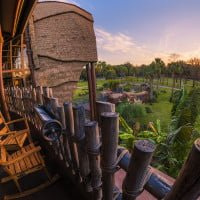 kidani-village-animal-kingdom-lodge-sunrise-sunburst