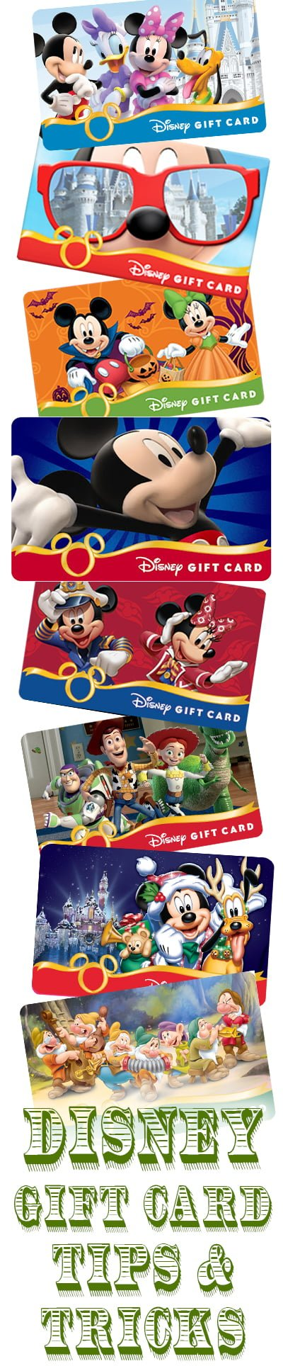 Tips for Saving Money on Disney Gift Cards - Disney Tourist Blog