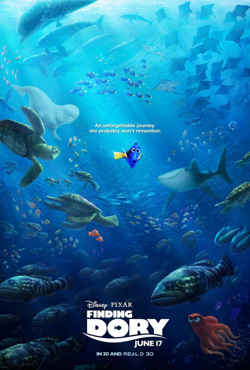 finding dory review disney tourist