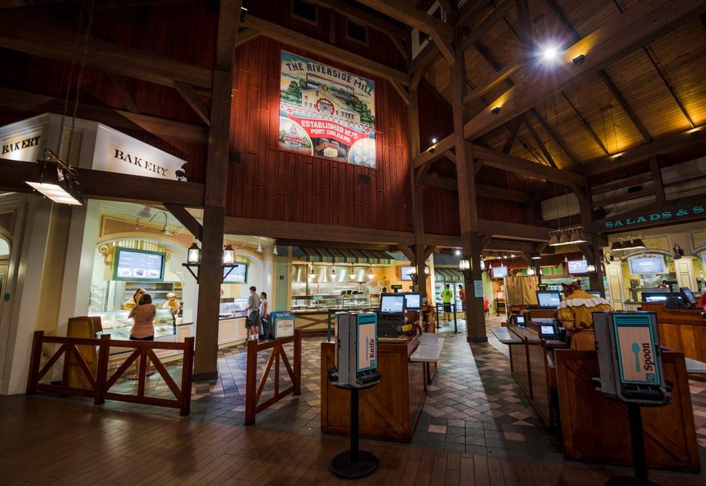 Food Court Riverside Port Orleans
