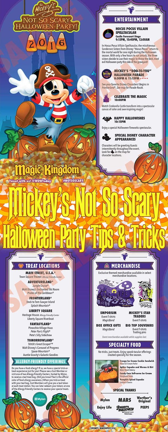 2017 Mickey's Not So Scary Halloween Party Tips - Disney Tourist Blog