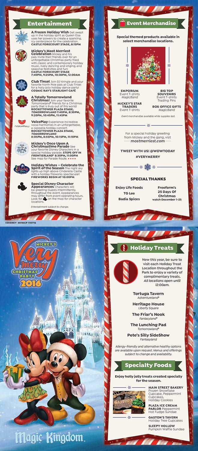 2017 Mickey's Very Merry Christmas Party Tips - Disney Tourist Blog