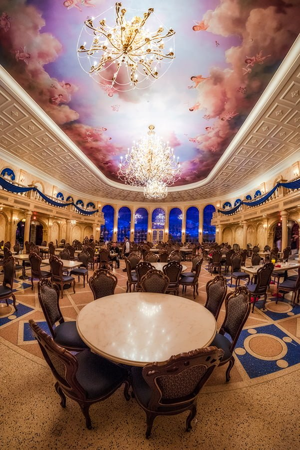 Be Our Guest Restaurant Dinner Review Disney Tourist Blog