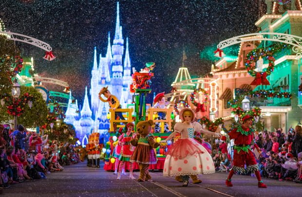 mickey 39 s very merry christmas party 2016 photos report disney tourist blog. Black Bedroom Furniture Sets. Home Design Ideas