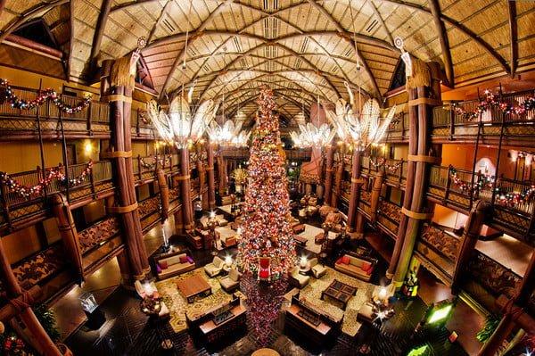 Christmas Decorations At Disney World Hotels : Top disney world resorts at christmas tourist