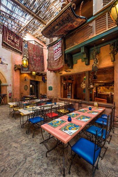 Agrabah Cafe Restaurant Review - Disney Tourist Blog
