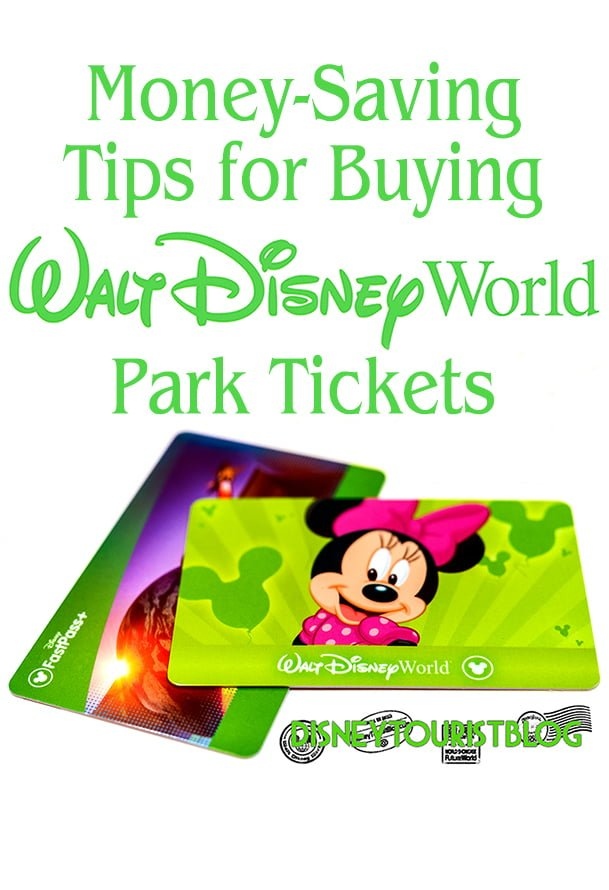 Disney world admission coupons